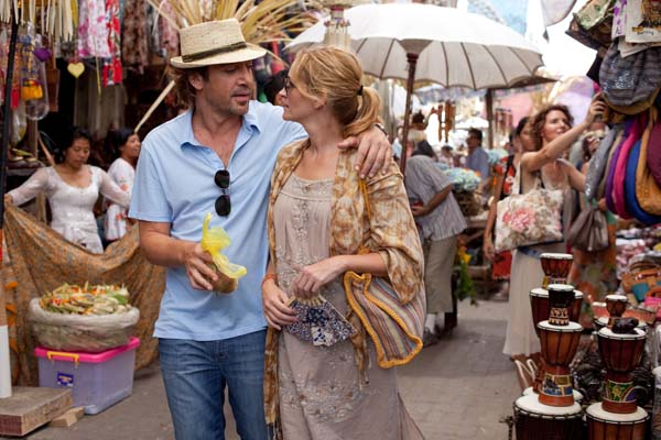 Julia Roberts in Eat Pray Love.