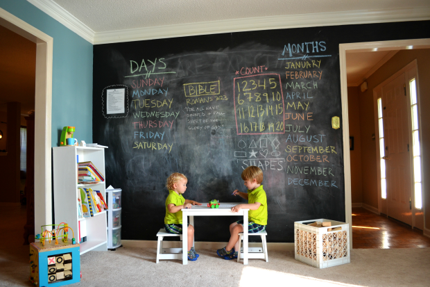 chalkboard-paint-ideas-for-children-playroom-620x413