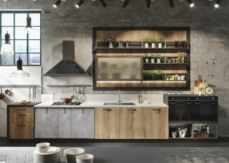 cocina-moderna-estilo-rustico