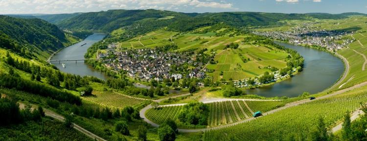Ruwer-Hochwald Radweg zwischen Hentern und Kimmlerhof