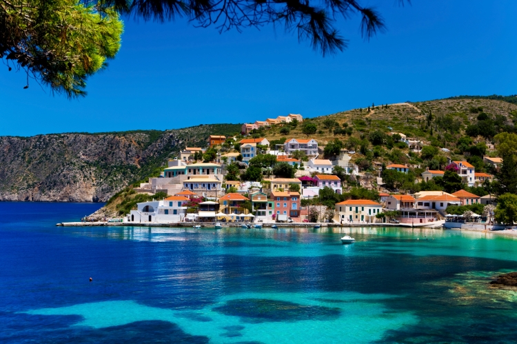 Asos village, Cephalonia