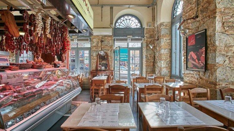interior-view-karamanlidika-delicatessen-restaurant-athens
